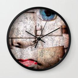 puppet show II Wall Clock