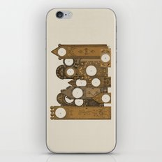 Points in time iPhone & iPod Skin