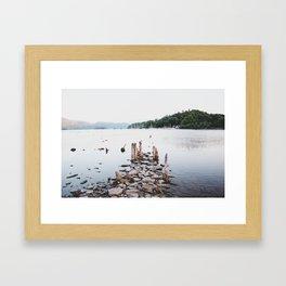 LAKESIDE Framed Art Print