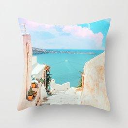 Surreal Greece #photography #travel Throw Pillow
