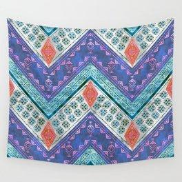 Jirra Boho Chevron {1A} Wall Tapestry
