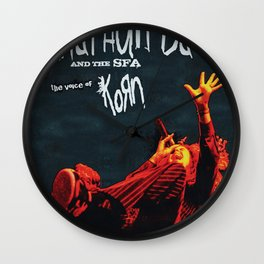 JONATHAN DAVIS THE VOICE TOUR DATES 2019 FIZI Wall Clock