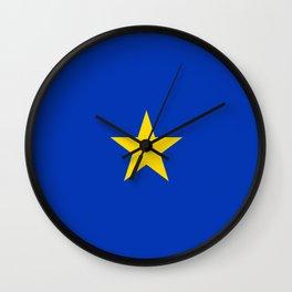 Flag of Atacama (Chile) Wall Clock