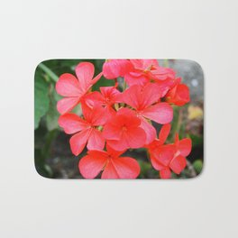 Blossom pattern Bath Mat