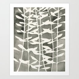 Plant Pattern #2 Art Print