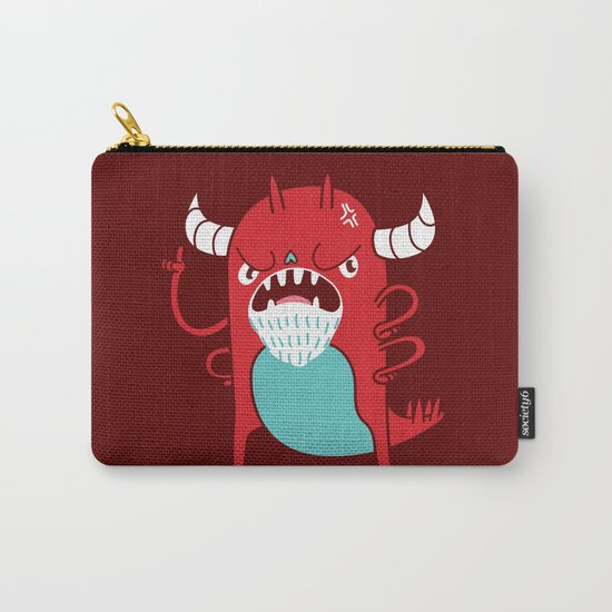 Monster Nagging Carry-All Pouch