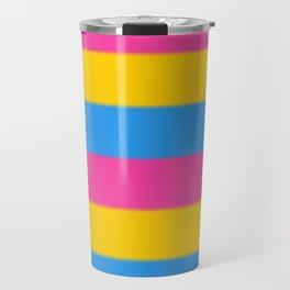 Pansexual Pride Flag v2 Travel Mug