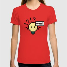 A Confused Light Bulb T-shirt
