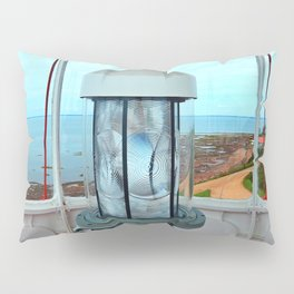 Point Prim Lighthouse View Pillow Sham