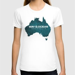 WAY OF THE OCEAN - Australia T-shirt