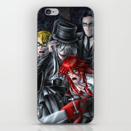 Haunted House Reapers iPhone Skin