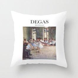 Degas - Ballet Rehearsal Throw Pillow