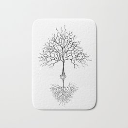 Tree of life meaning white Bath Mat