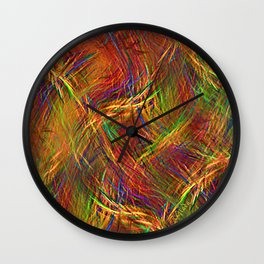Layers of happiness Wall Clock