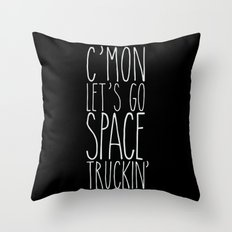 space truckin' Throw Pillow