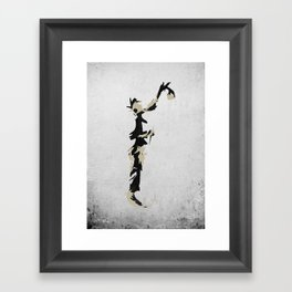 Spraypaint Framed Art Print