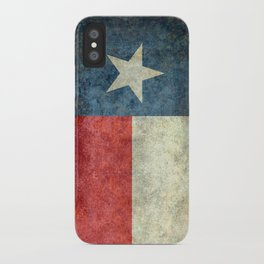 Texas State Flag, Retro Style iPhone Case