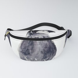 baby pinguin - bebe manchot - nord - north - banquise - arctique Fanny Pack