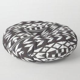 Black & White Pattern Floor Pillow