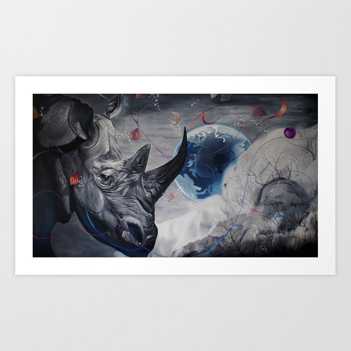 Regards from Eternity. Art Print