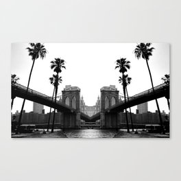 L.A in New York Canvas Print