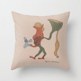 Megabille Throw Pillow