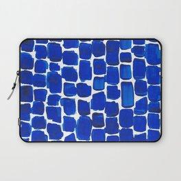 Brick Stroke Blue Laptop Sleeve