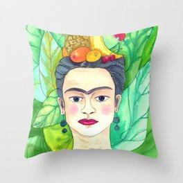Chiquita Frida Throw Pillow