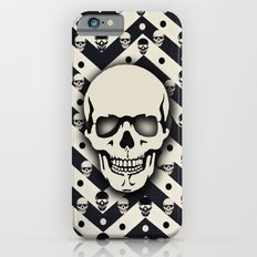 Hipster Chevron Skull iPhone 6s Slim Case