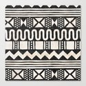 African Shapes - Black by ruistalph