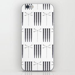 Dagonfly & nails iPhone Skin