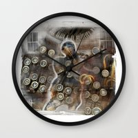 back to the future Wall Clocks featuring back to the future by bsvc