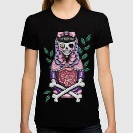 Zombie Russian Doll T-shirt