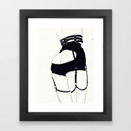 Leg Sketch Eight (Creepyyeha) Framed Art Print