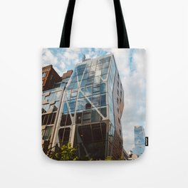 Highline View V Tote Bag