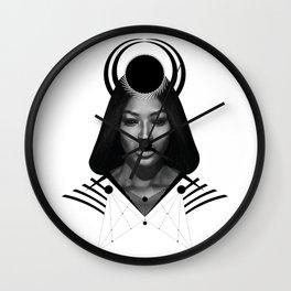 Dark Homonyms VII Wall Clock
