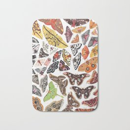 Saturniid Moths of North America Bath Mat