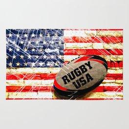 American Rugby Rug