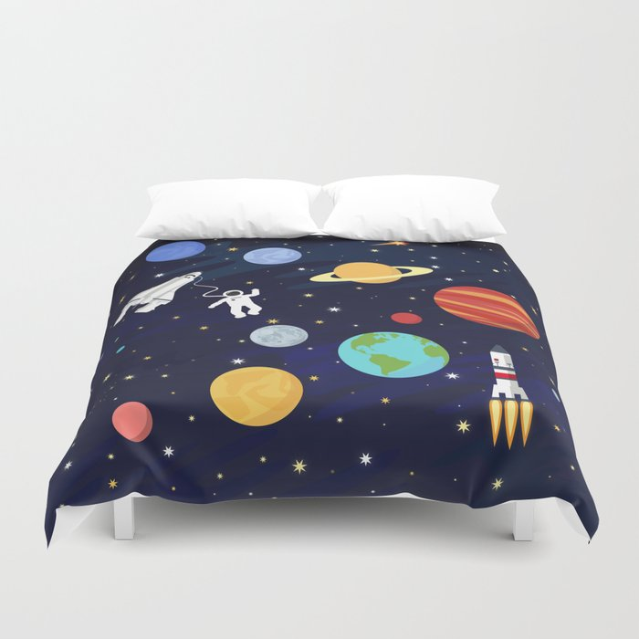 In space Bettbezug