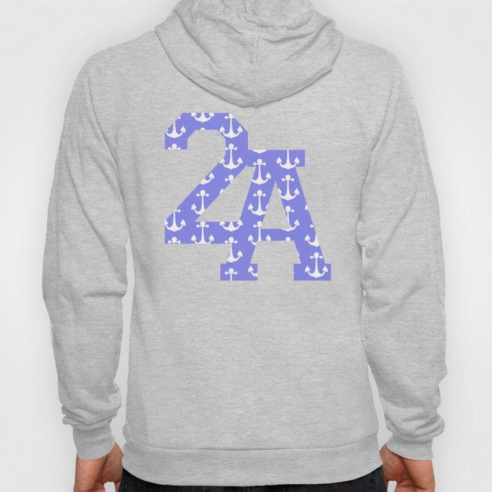 2A Anchor Print Hoody