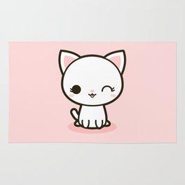 Kawaii Kitty 3 Rug