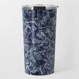Vintage Constellations & Astrological Signs | White Travel Mug