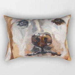 Gemma the Golden Retriever Rectangular Pillow
