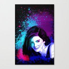 Splash of Color Canvas Print