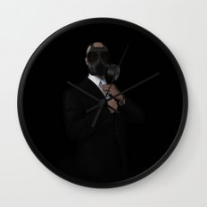 Apocalyptic Style Wall Clock