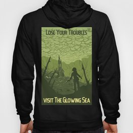 Lose Your Troubles in the Glowing Sea Hoody