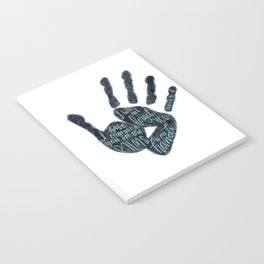 Isaiah 49:16 - Palms of his hands Notebook