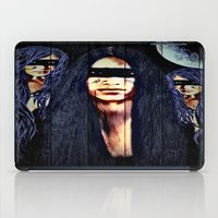 warrior iPad Cases featuring Warrior by    Amy Anderson