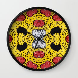 Plasma Wall Clock