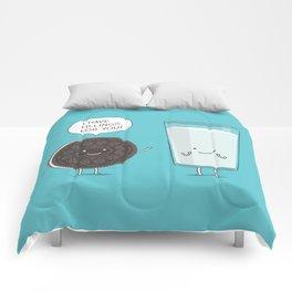 Cookie love milk Comforters